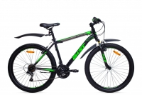 Велосипед горный MTB Аист Aist Quest black/green