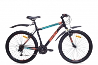 Велосипед горный MTB Аист Aist Quest black/red