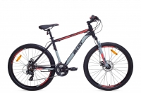 Велосипед горный MTB Аист Aist Rocky 1.0 Disc black/red