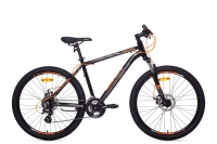 Велосипед горный MTB Аист Aist Rocky 2.0 Disc, black/orange